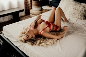 April erotic massage in Atchison